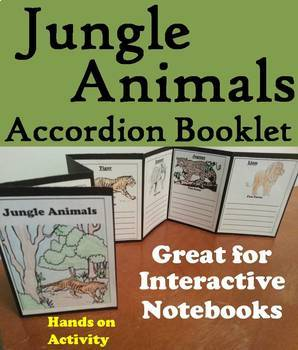 Animal Activities Bundle for Interactive Notebooks