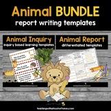 Animal Activities - Inquiry and Report Bundle (Digital & P