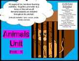 Animal Activities Unit - math literacy listening STEM 58 p