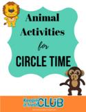 Animal Activities for Circle Time Bundle