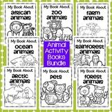 Animal Activity Books BUNDLE - 9 Animal Habitats for Preschool and Pre-K