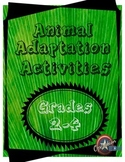 Animal Adaptation Activities - Mini Unit