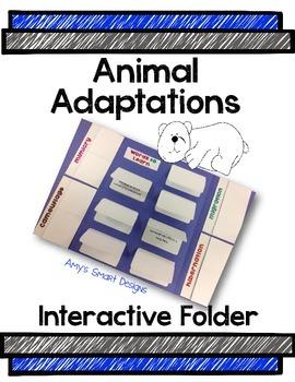 Animal Adaptation Interactive Folder