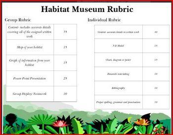 Animal Adaptation Museum Project