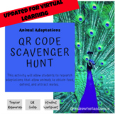 ** Online Learning Assignment** Amazing Animal Adaptations Webquest/QR Codes
