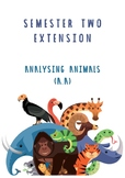 Animal Adaptation extension project