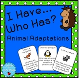 Animal Adaptations Game