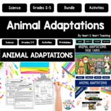Animal Adaptations BUNDLE- Instincts, Learned Behaviors & Endangered Animals