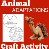 Animal Adaptations | Kindergarten 1st 2nd 3rd Grade | Craf