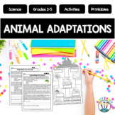 Animal Adaptations with Giraffes, Camels, Dolphins, Gorill