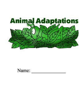 Animal Adaptations - 5 Days Centers & games!