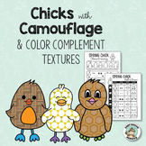 Animal Adaptations: Chicks with Camouflage Art Activity