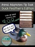 Animal Adaptations Experiment: Duck Feathers