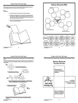 vertebrates and invertebrates animal adaptations interactive notebook unit. Black Bedroom Furniture Sets. Home Design Ideas