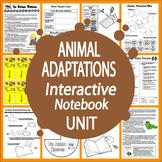 Vertebrates & Invertebrates–4th Grade Science Animal Adaptations Activities Unit