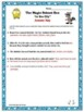 "Animal Adaptations Magic School Bus ""In the City"" Video Response Worksheet"