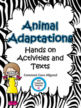 Animal Adaptations {Mimicry, Migration, Hibernation} Activities, Texts, Quizzes