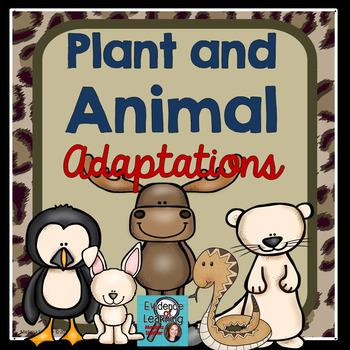 Animal Adaptations Notebook Printables