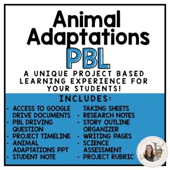 Animal Adaptations PBL
