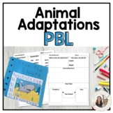 Animal Adaptations PBL - Includes Google Drive Documents