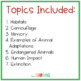 Animal Adaptations PowerPoint and Student Notes