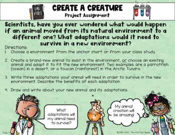Animal Adaptations Project {Science, Writing, and Art}