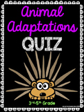 Animal Adaptations Quiz