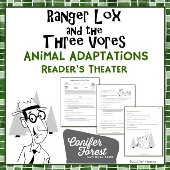 Animal Adaptations Reader's Theater - Fun Camping Themed Play