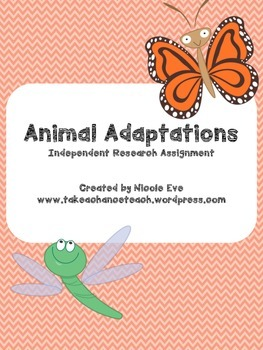 Project Based Learning Assessment: Animal Adaptations