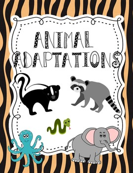 Animal Adaptations Research Project