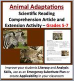 Animal Adaptations - Science Reading Article – Grades 5-7