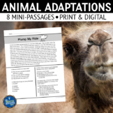 Animal Adaptations Reading Passages