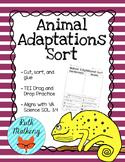 Animal Adaptations Sort - VA Science SOL 3.4