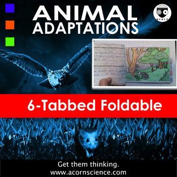 Animal Adaptations Tabbed Foldable