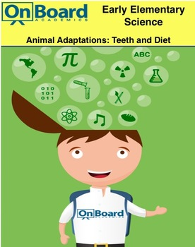 Animal Adaptations, Teeth and Diet-Interactive lesson