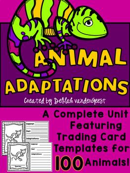 Animal Adaptations Unit