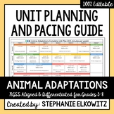 Animal Adaptations Unit Planning Guide