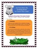 Animal Adaptations WebQuest