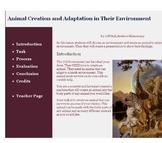 Animal Adaptations Webquest by Mr. Hall
