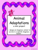 Animal Adaptations - a mini project