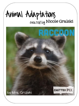 Animal Adaptations - an AppSmashing iPad Activity