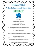 Animal Adaptations and Seasons Bundle! - Centers, Activities and Worksheets