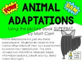Animal Adaptations are like Super Powers! - Picture Book &