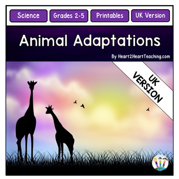 Animal Adaptations with Dian Fossey and Jane Goodall  {UK