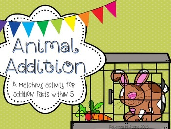 Animal Addition FREEBIE!
