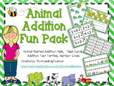 Animal Addition Fun Pack