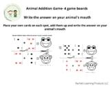 Animal Addition Game