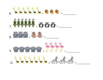 Animal Addition page