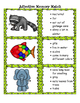 Animal Adjective Memory Match:  Great for Daily 5/Literacy