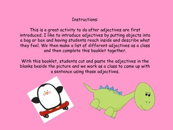 Animal Adjectives